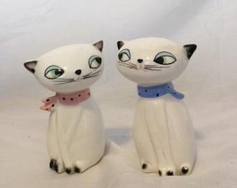 1958 Holt Howard Cozy Kitten Salt and Pepper Shakers