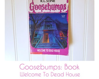 Goosebumps Book Welcome To Dead House