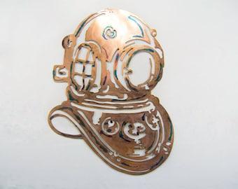 Copper Dive Helmet
