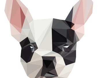 Polygonal Pet Portrait