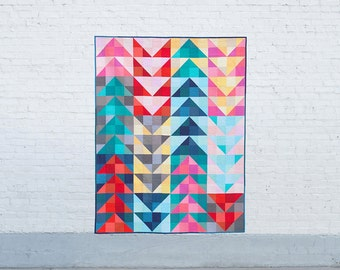 Scrappy Geese PDF Quilt Pattern