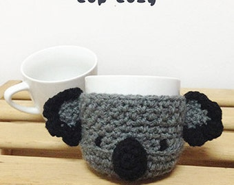 Crochet Pattern Cup cozy Cup sleeve Mug cover Cup warmer Mug holder Apple cozy Mug cozy Mug sleeve Fruit cozy Apple protector Coffee Tea