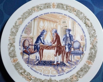 D'Arceau-Limoges Plate - Secret Contract - CLEARANCE SALE
