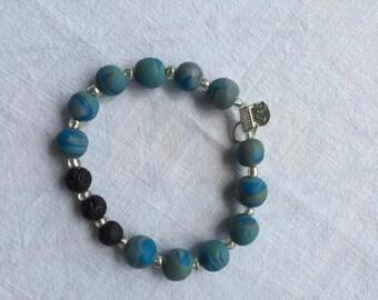 The 'Ocean' Full Bead Bracelet