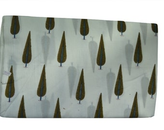 1 to 50 Yards(Print_009)Indian Block Printed 100% Cotton Cyprus Printed Fabric