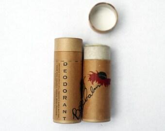 deodorant / organic deodorant / bee balm scent / all natural deodorant deoderant  / all natural deodorant stick all natural / coconut oil