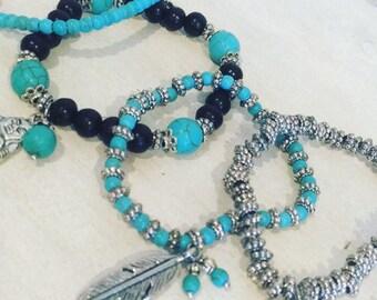 Bracelet sets (4 pieces)