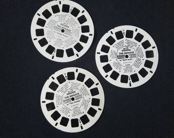 Viewmaster Reels Set of 3