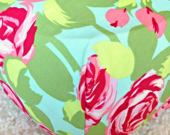 Love Tumble Roses Cotton Fitted Crib Sheet
