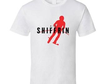 Mikaela Shiffrin Usa Alpine Skiing 2018 Olympic Athelete Air Fan T Shirt