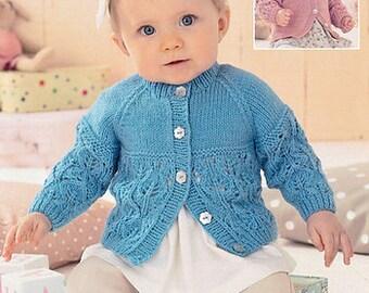ff80249b241c5 Sweater Knitting Pattern Leaflet Sirdar 1414 Snuggly DK