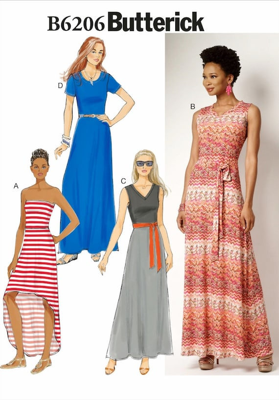 Long Dress Sewing Patterns Image collections - origami instructions ...