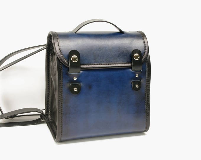 Featured listing image: Small Leather Backpack