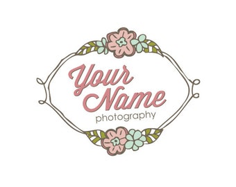 Photography Logo & Watermark - Pre-made - Folk Frame
