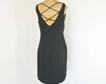 Little Black Dress 90s CDC Cocktail Formalwear Unworn Size 10