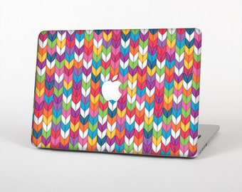 The Color Knitted Skin for the Apple MacBook Air - Pro or Pro with Retina Display (Choose Version)