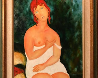 White red haired woman