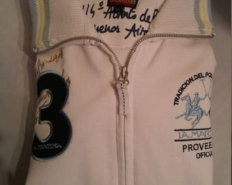 Beautiful La Martina Polo Zip-Front Jacket (M)