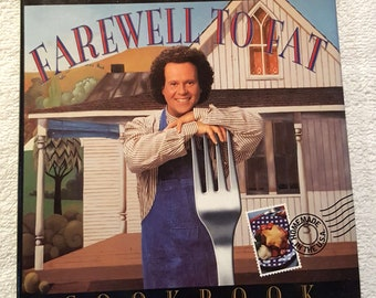 Farewell To Fat - Richard Simmons - Cookbook