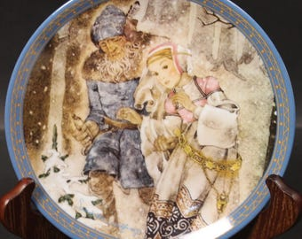 Bradford Exchange Plate by the Artist Sulamith Wulfing.  'The Journey'  (CGP-8008)