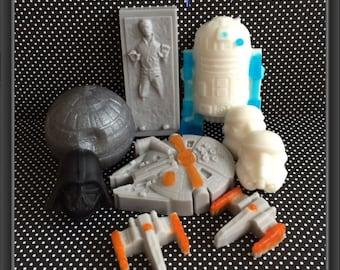 Star Wars Inspired Deluxe Soap Gift Set-9 Soaps!!