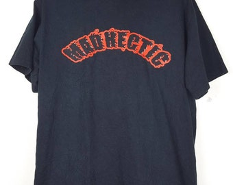 Vintage Mad Hectic X Good Enough Japanese streetwear shirt