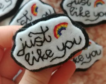 just like you louis tomlinson pin