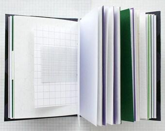 Temet Nosce - Travel Journal - 4.5 x 6 inch A6 - Bucket List Journal - Graduation Gift