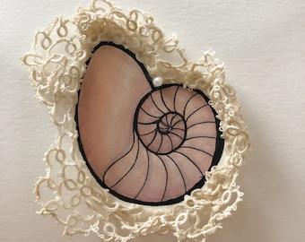Lace shell