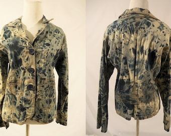 Altered Bill Blass Denim Jacket
