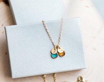 Dainty Birthday Gift Personalized Necklace Personalized Womens Dainty Necklace Personalized Jewelry Personalized gift for Women / 311