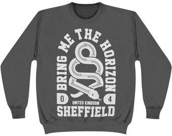 Bring Me The Horizon Band Tee Sweatshirt - Size M - Warped Tour - Hot Topic