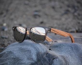 Wooden Sunglasses. Groomsmen Gift. Personalized Wood Sunglasses. Zebra Wood. Polarized Sunglasses. Mens Sunglasses. Womens Sunglasses