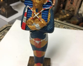 Unique Hand Made Egyptian King Tut Made In Egypt