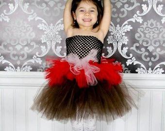 Valentines Day tutu dress, pageant tutu dress, dress up, handmade, photo pop, flower girl, toddler tutu, infant tutu, girls tutu, tutu dress