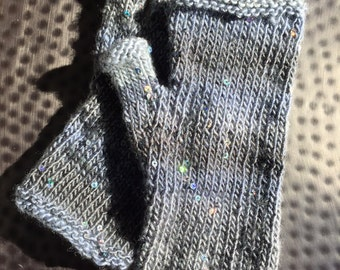 Winter Solstice Fingerless Gloves