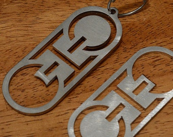 Ohio Bottle Opener Key Chain