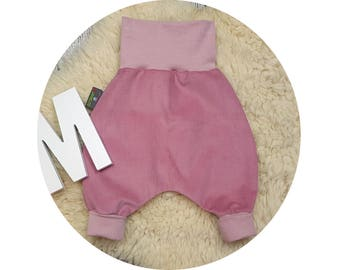 Corduroys, trousers, baby pants, baby, wax trousers, Pumphose, harem trousers