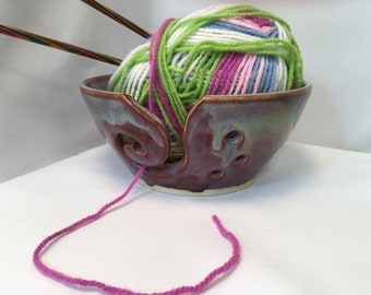 Yarn bowl - knitting bowl