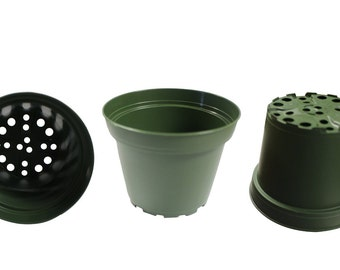 Plastic Pots for Plants, Cuttings & Seedlings, 4-Inch, 30-Pack