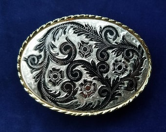 ON SALE! ..Vintage Western Belt Buckle #59