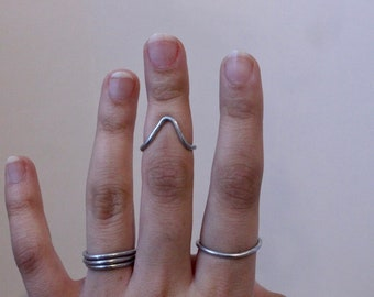 Pack of 3 Minimal Rings