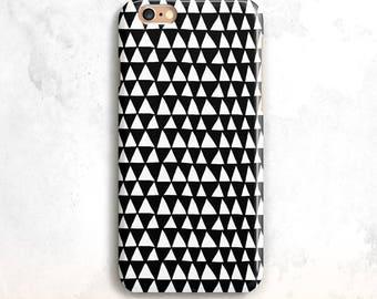 iPhone 8 Case, Black Geometric iPhone 7 Case, iPhone X Case, Geometric iPhone 6, iPhone 7 Case,Tribal iPhone 6 Case,iPhone 5, iPhone 8 Plus