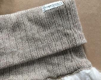 Cashmere & Wool Fiber Cowl