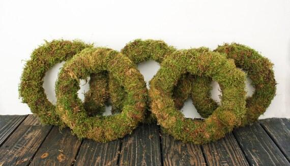 Wreath, Oregon Moss Covered Wreath