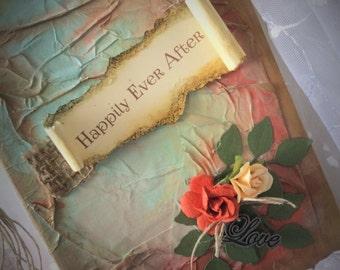 boho wedding book / woodland Wedding / Fairytale book