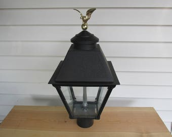 Vintage Charmglow Post Top Natural Gas Light