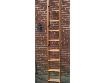Decorative Wood Ladder - Custom built to order