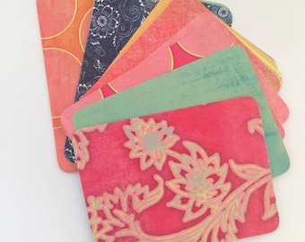 Confetti - 3x4 Journaling Cards, Planners, Scrapbooks, Project Life, Snail Mail, Handmade