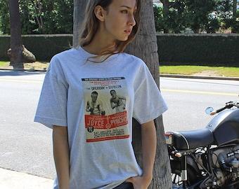 James Joyce vs Thomas Pynchon Boxing T-shirt